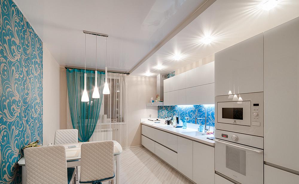 ВАЖНО Какой потолок установить на кухню?