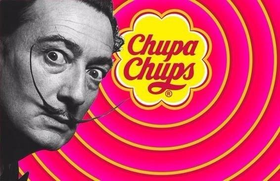 Логотип знаменитой во всем мире карамели Чупа-чупса создал испанский сюрреалист Сальвадор Дали