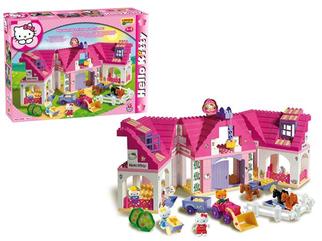 Сбор заказов. Распродажа конструкторов, игрушек для девочек Hello Kitty, наборы для творчества: пластилин, лепка