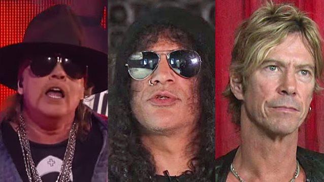 Guns N Roses воссоединение