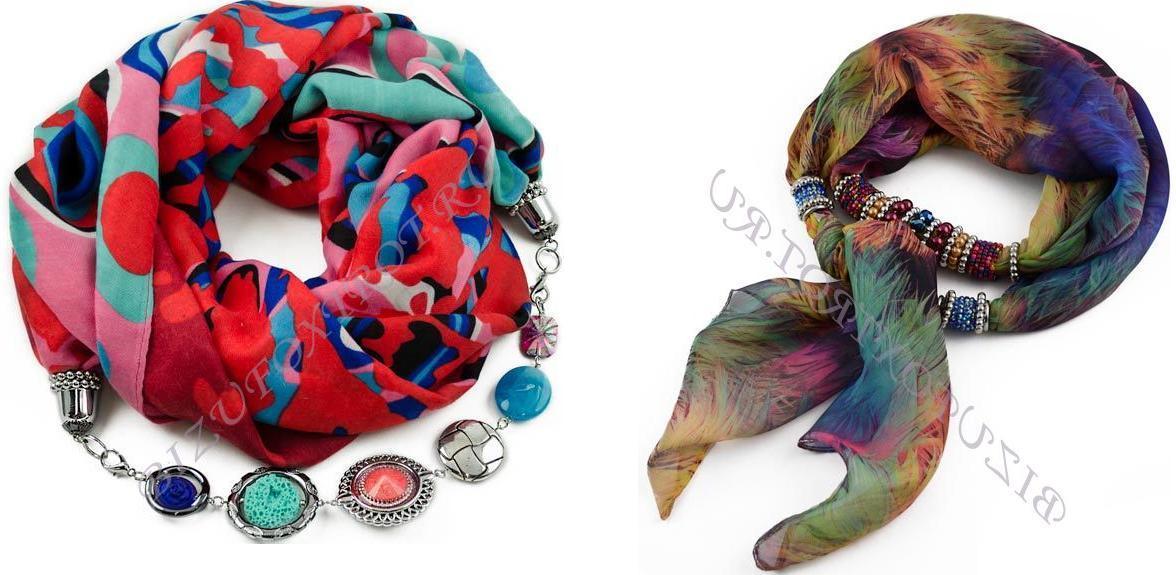 Сбор заказов.Изысканные шарфы, косынки, платки с украшениями из Чехии, а также бижутерия из чешского стекла -будьте неотразимы-10! Новинки и распродажа!Шикарный подарок к 8 марта!