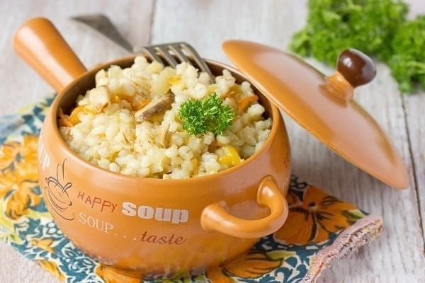 Царское блюдо или каша красоты
