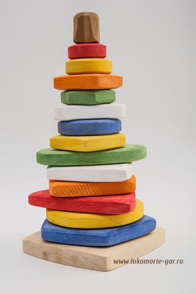 Возобновляем закупку деревянных игрушек Лукоморье