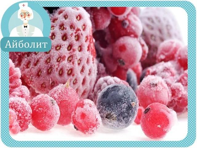 Польза компота из замороженных ягод