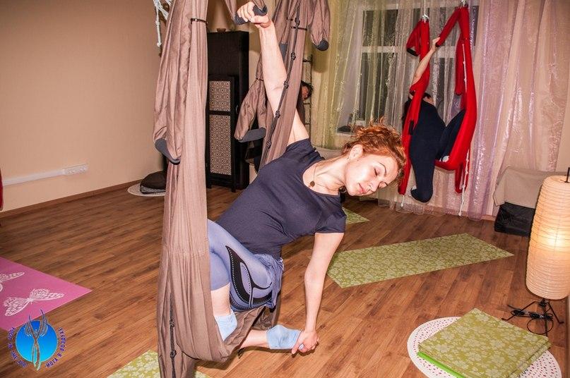 Открытые уроки по воздушной йоге в Нижнем Новгороде!