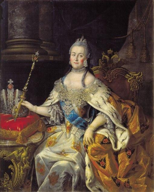 Екатерина II в Нижнем Новгороде.