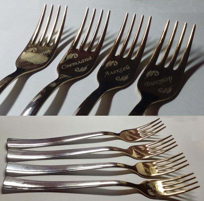 Сбор заказов. Именные ложки, вилки и ножи! Готовим подарки к 8 марта!