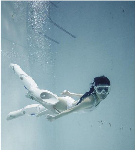 В Иркутске испытывают робо-ноги для более быстрого перемещения под водой.