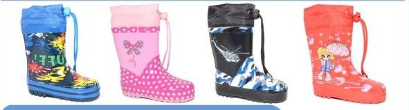 Сбор заказов. Счастливый ребенок. Скоро весна, лужи. огромный выбор резиновых сапожек и ботинок. Цена от 560р.