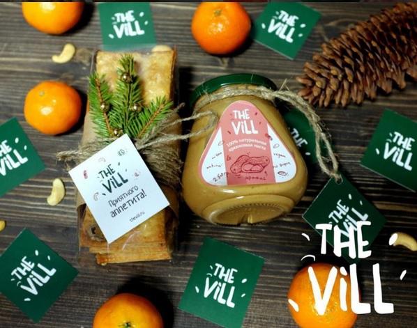 Ореховые пасты The Vill. Арахис, Кранч, Кешью, Фундук. Полезно, натурально, вкусно! От 200р