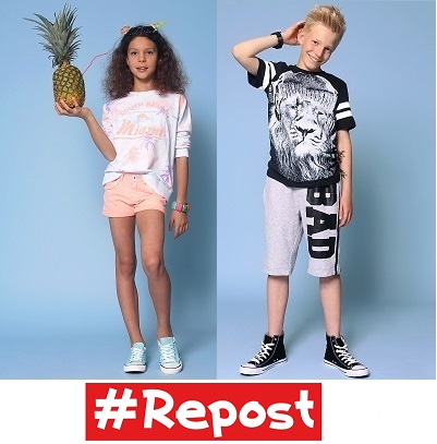 Новый бренд одежды специально для подростков и детей от 7 до 17 лет- #Repost