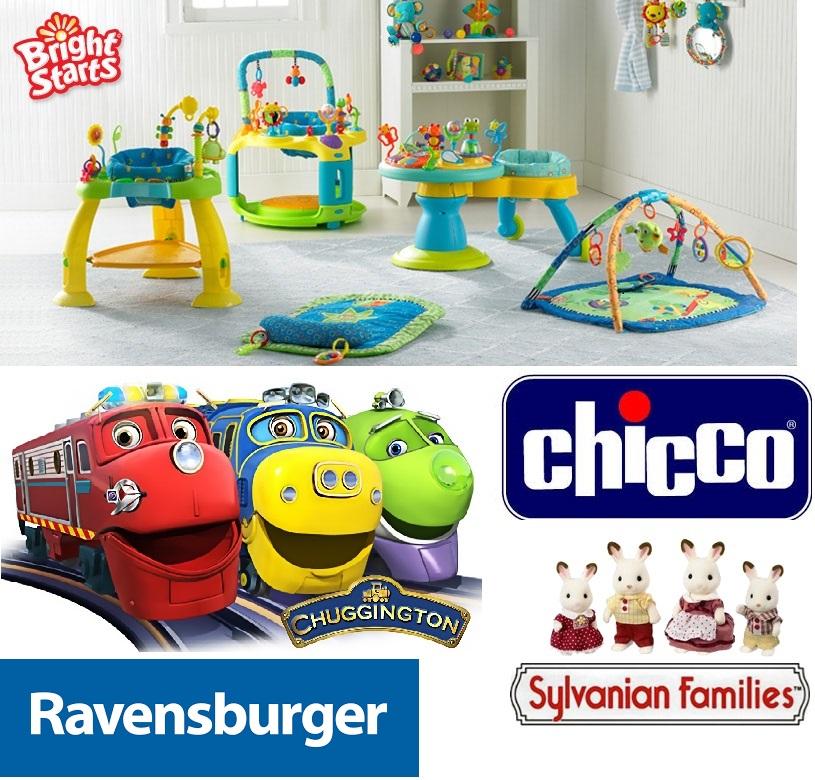 Сбор заказов. Любимые игрушки, склад Первые шаги. Лучшие цены на Chuggigton, Ravensburger, Sylvanyan families, много