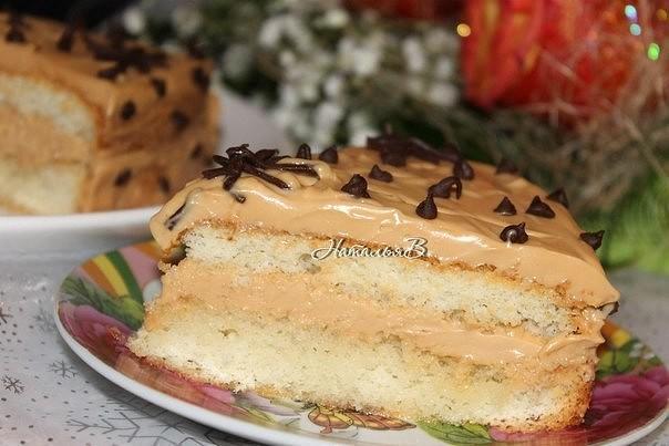 Торт Ириска