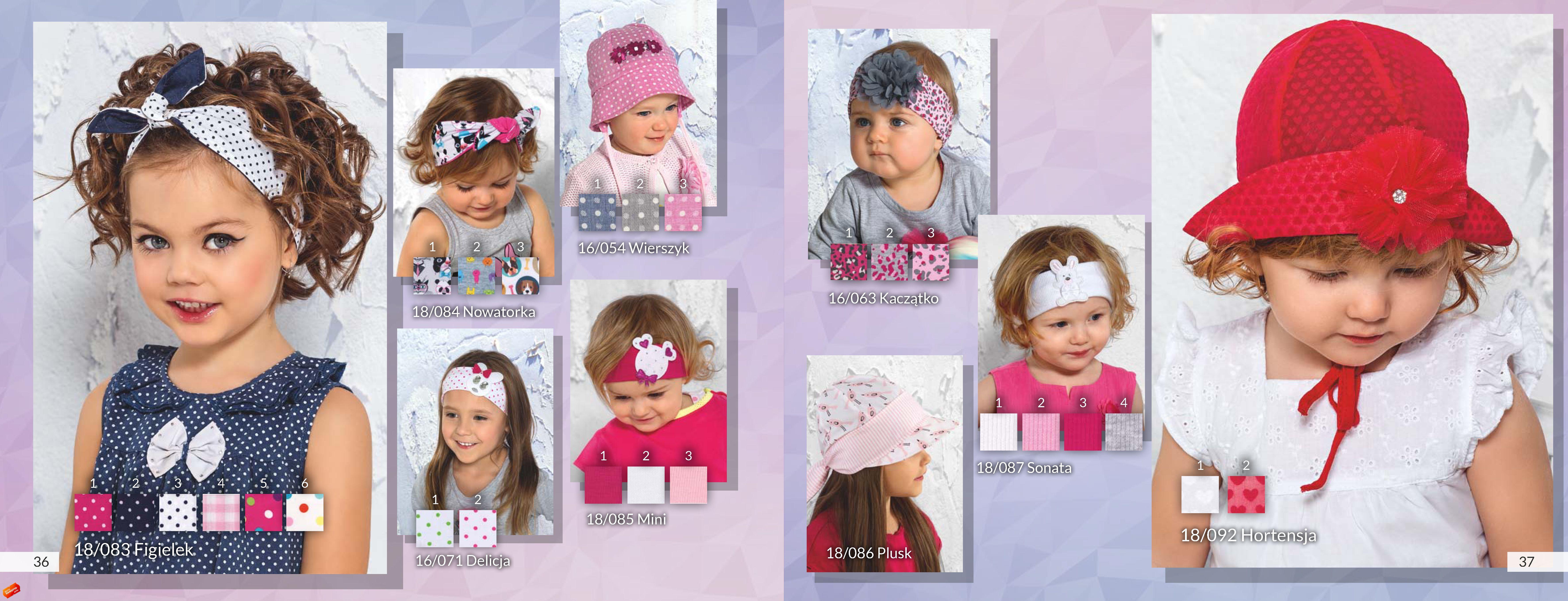 Новая коллекция весна-лето.Очень красивые шапки Растер.размеры от 38 до 58.без рядов