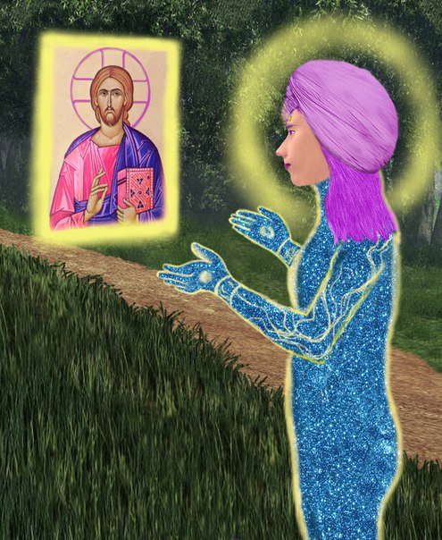 Явление иконы Христа. Философское творчество.
