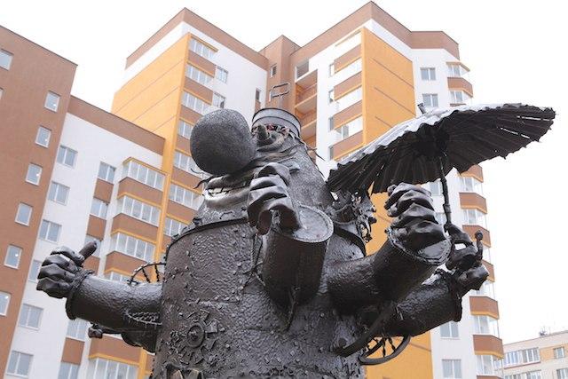 Необычные памятники и скульптуры Нижнего Новгорода!