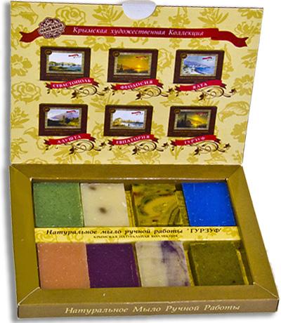 Подарочные наборы мыла с городами Крыма