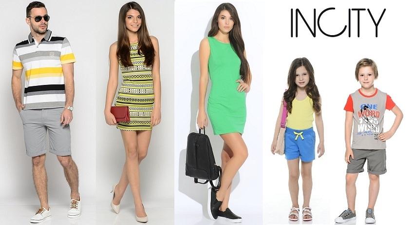 Incity-6. Распродажа летних коллекций известного бренда, для всей семьи! Цены от 120 руб., собираем 4 дня!