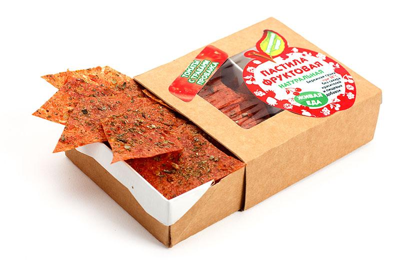 Сбор заказов. Живая еда, натуральная пастила, отличный десерт в оригинальной упаковке. Множество сочетаний, даже из томатов, спешите попробовать!