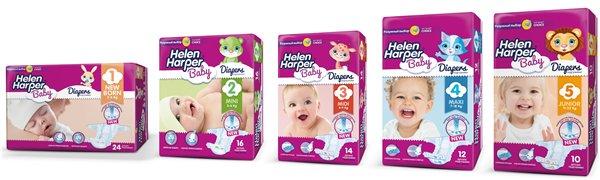 Helen Harper- подгузники для наших любимых малышей
