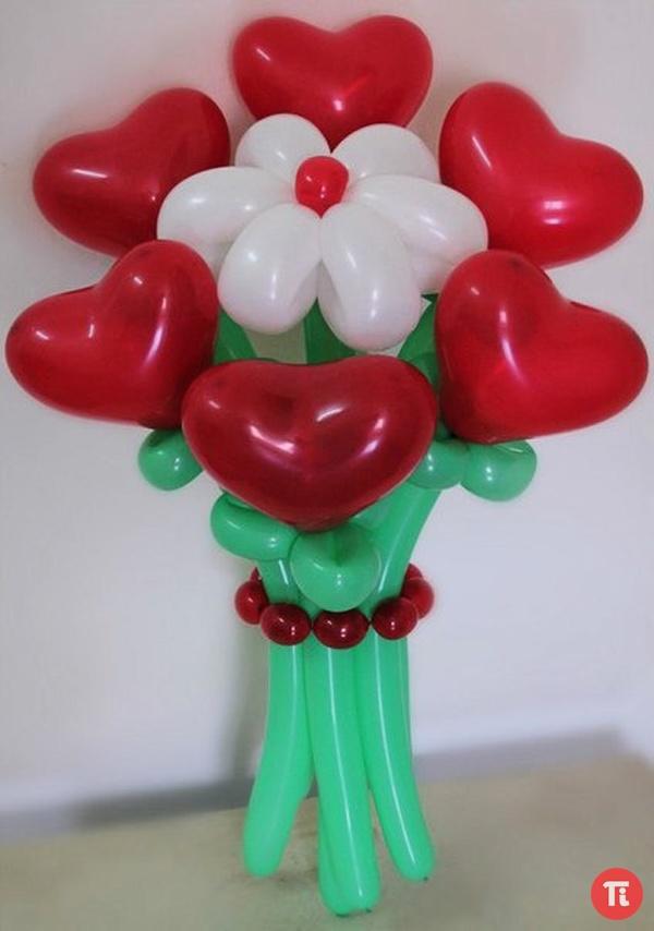 Подарки из шаров к 8 марту!!!!