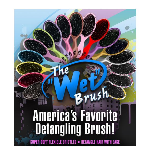 Новый сбор заказов!Wet brush -расческа No.1 в США! Уникальная новинка для любительниц массажных расчесок!
