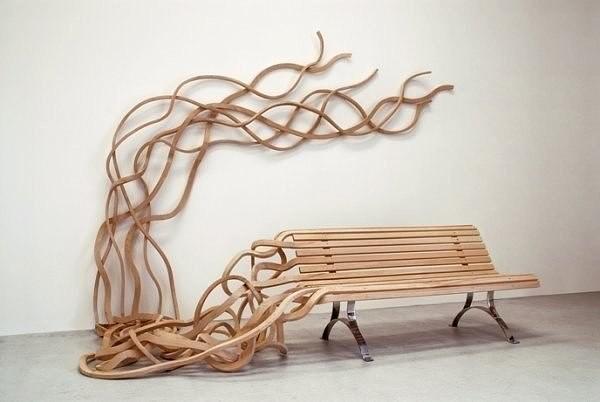 Необычные скамеечки