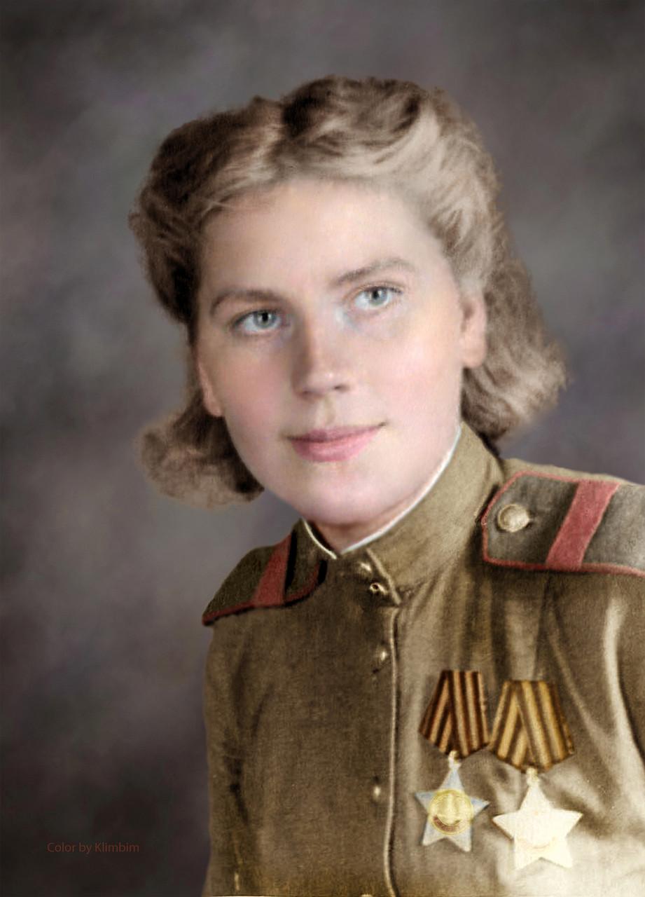 Цветные военные фото