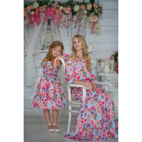 Сбор заказок. Family Look от российского дизайнера Екатерины Кунгуровой - платья, вызывающие восторг. И невероятной