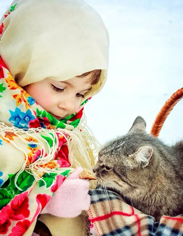 Человек только тогда человек, когда в сердце его живет доброта...