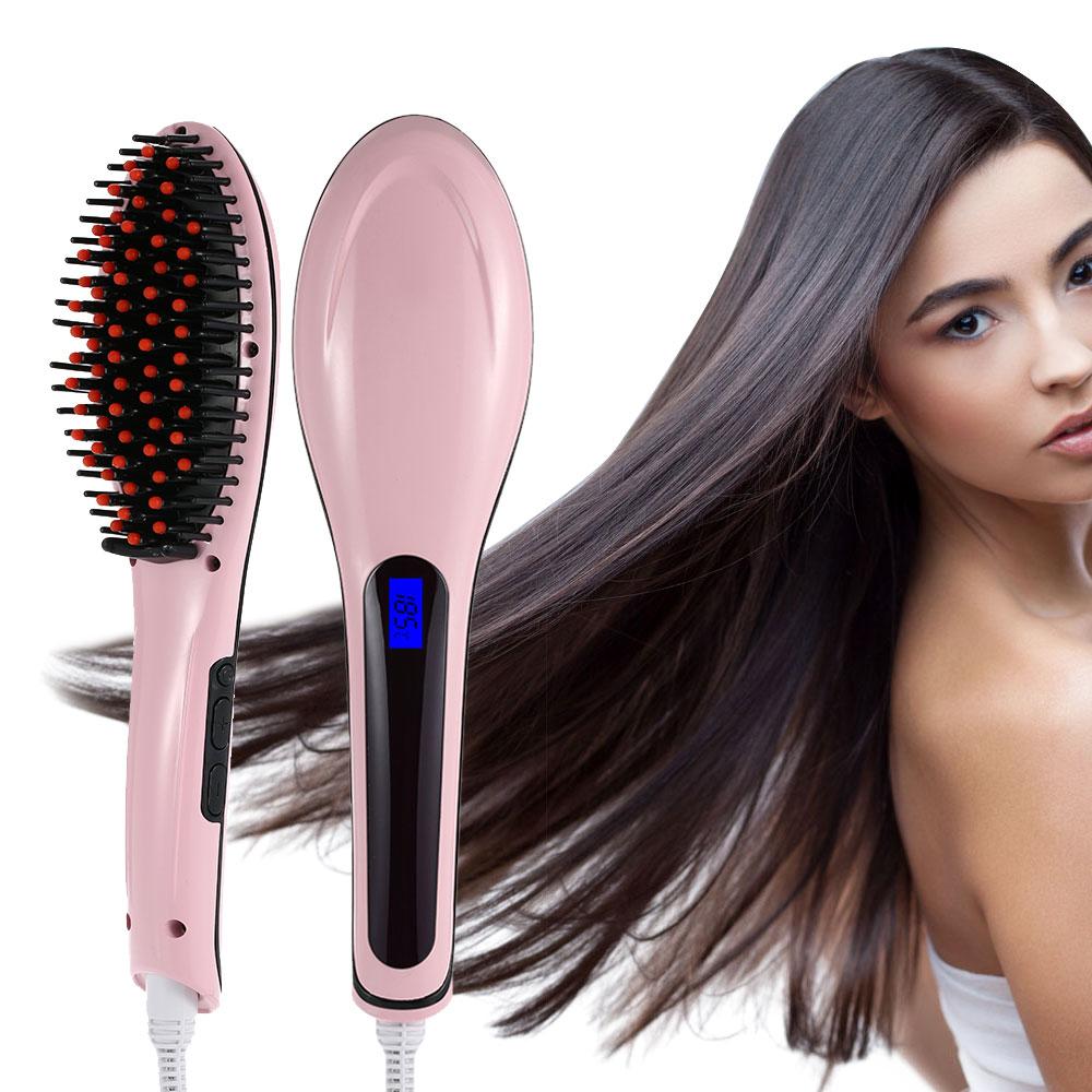 Сбор заказов. Хит-новинка 2016 года! Электрическая расческа-выпрямитель для волос Fast Hair Straightener! Вы выбросите свой старый выпрямитель! Выкуп 3!