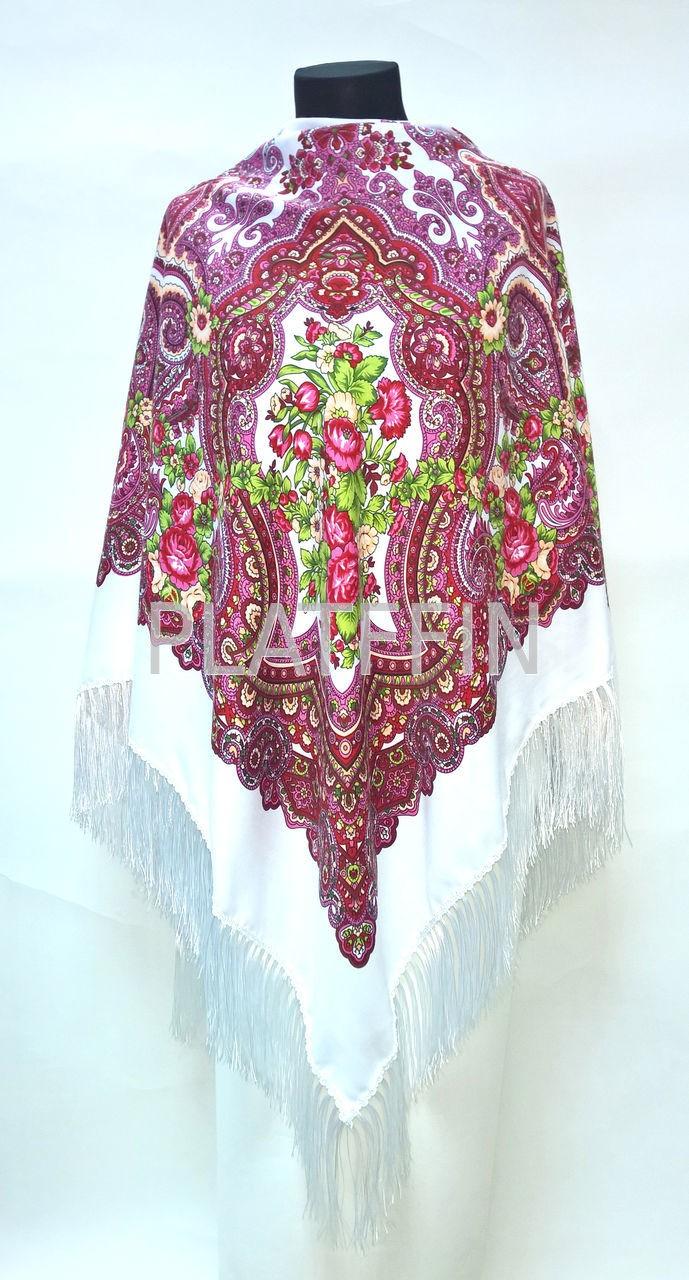 Сбор заказов. Красивые палантины, снуды, платки Русские узоры. Цены от 115 руб. Мастер-класс по завязыванию платков