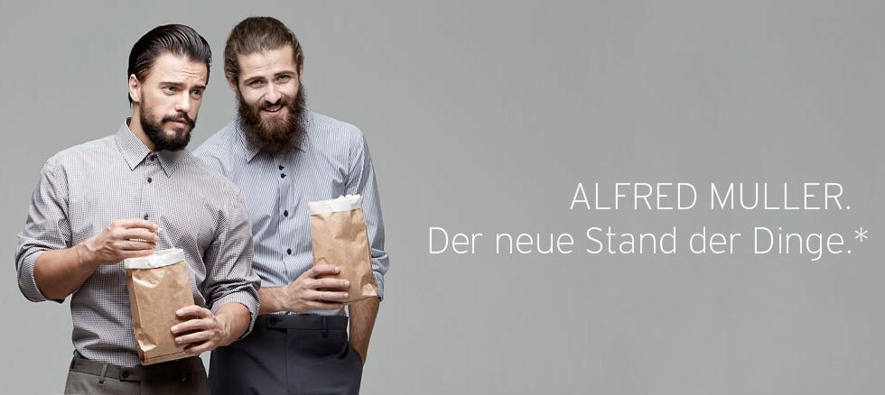 Сбор заказов. Знаменитые и долгожданные рубашки Alfred Muller & Greg Horman