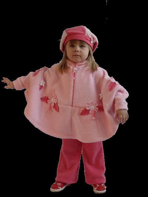 Детская одежда из флиса и велюра.