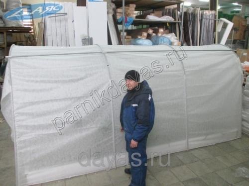 Сбор заказов. Готовый компактный парник Даяс - немецкое качество по русской цене! Простота установки, практичность и