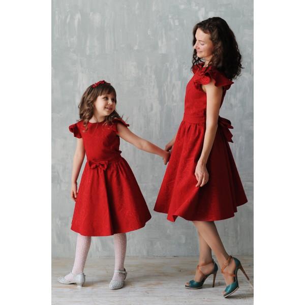 WOW!!!! ЦЕНЫ СНИЖЕНЫ!!! Family Look - платья, вызывающие восторг от дизайнера Екатерины Кунгуровой