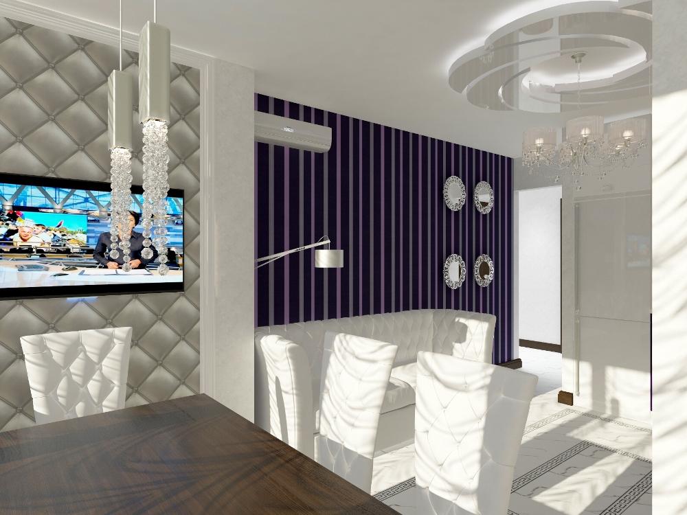 Дизайн квартиры, кухни-гостиной! Доступная цена!
