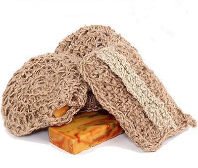 Набор сувенирный с натуральным мылом и джутовой мочалкой Ласточкино гнездо. Ялта