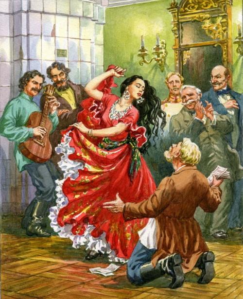 ... Вы бы Родине своей, как алтарю, служили, а то нынче все благодатью, как сукном, торгуют».
