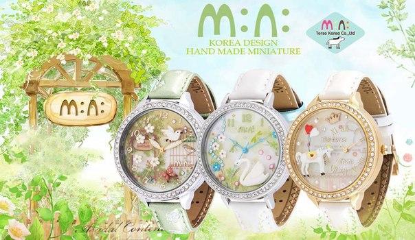 Сбор заказов. Часы MiniWatch, как произведение искусства. Первые в мире часы для счастливых. Весенние новинки. Выкуп 20