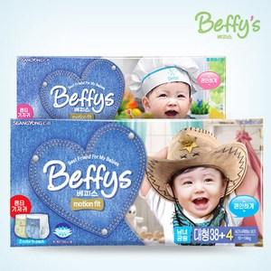 Новинка - Beffys - корейские подгузники и трусики премиум класса