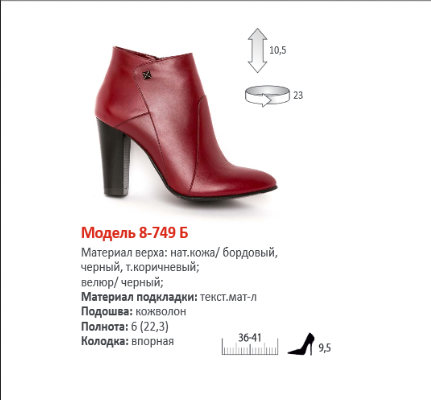 Обалденная весенняя коллекция обуви Милена! Изящная, стильная, практичная и доступная каждой! Все замеры в теме! 3