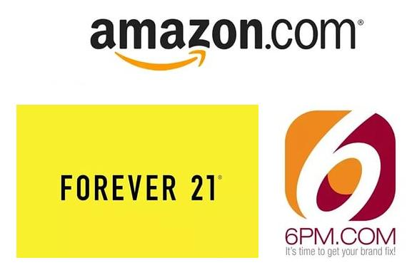 ���� ���������� � ������ Amazon, 6pm, Forever21 - ���� ����-��, ��� �� ����, �����������, ���� ������ �������.