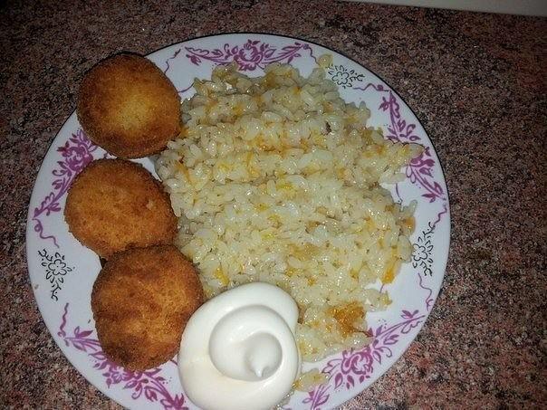 Рецепт риса в сковороде за 30 минут