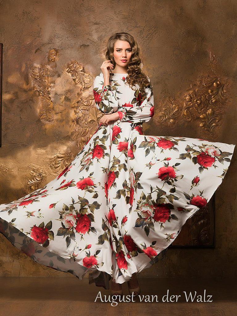 Сбор заказов. Подарите себе роскошь цветов. Дизайнерские платья от Модного Дома Северной Венеции - 2.