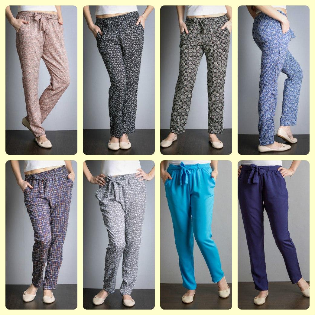 Модные, красивые и невероятно комфортные юбки и брюки из легкого и приятного материала штапеля. Без рядов!