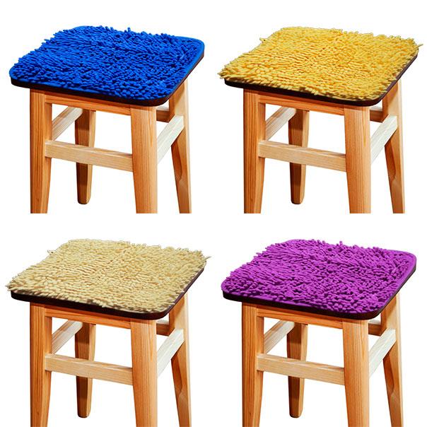 Внимание! Появились сидушки на табуретки Макарон (материал такой же, как и коврик для ванной комнаты). Сидушки имеют