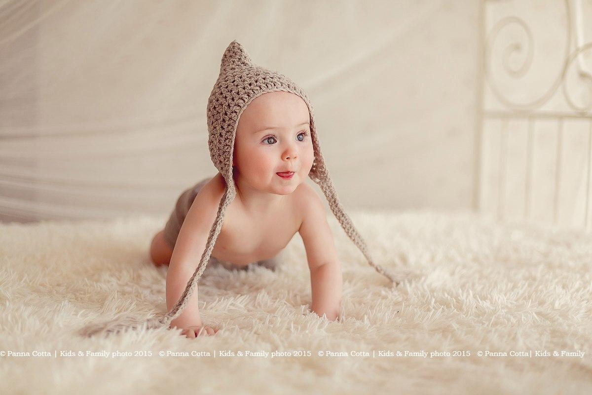 Фотопроект для малышей в возрасте от 4х до 9 месяцев