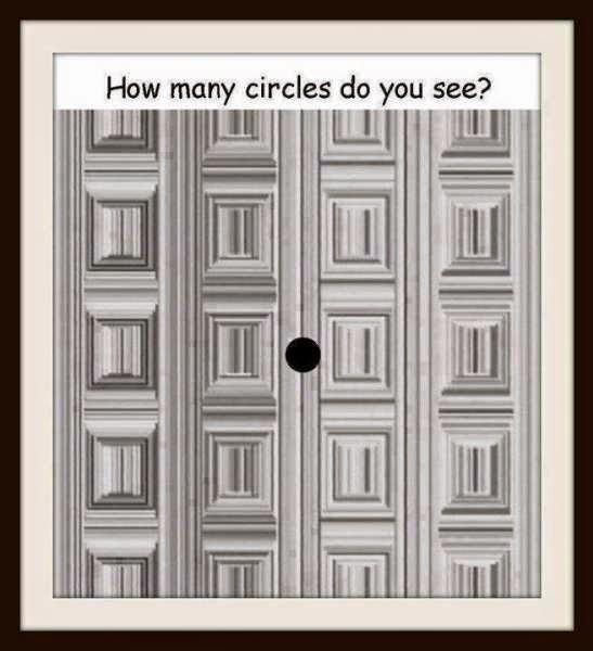 Сколько кругов вы видите на этой картинке?
