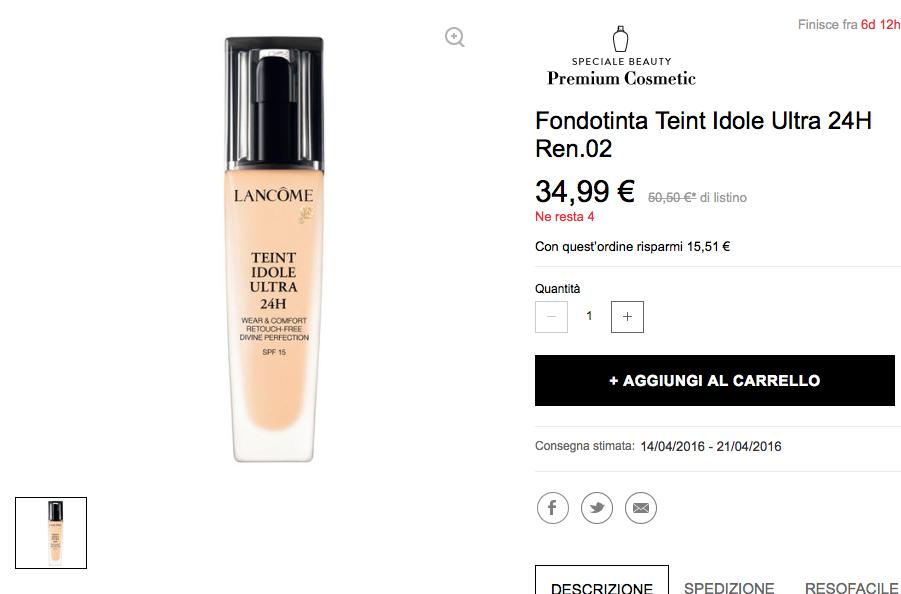 Распродажа косметики Lancome, Dior, Chanel... и пр.